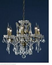 Bronze Traditional 4-6 Lights Chandeliers
