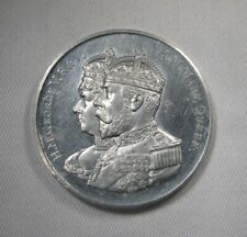 Great Britain King George V & Queen Mary 1935 Silver Jubilee Commem Medal AK331