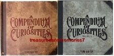 Tim Holtz A COMPENDIUM OF CURIOSITIES Volumes I and II Hard Cover Books