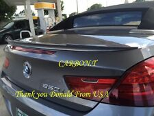 Painted V Type Trunk Spoiler 11-15 BMW F12 640i 650i Convertible Choose Color