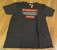 Supreme Koyaanisqatsi Tee T-Shirt Size Large Black FW20 Brand New DS 2020