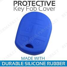 Remote Key Fob Cover Case Shell for 2005-2014 Ford Mustang Blue