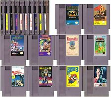 Lot of 10 NES Games: Super Mario Bros 3, Maniac Mansion, Conflict + 7 Others