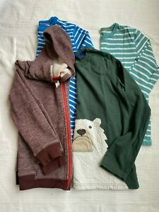 Lot of 3 Mini Boden boy  size 11-12 and Tea Collection hoodie size 12