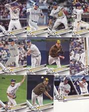 2017 TOPPS UPDATE SAN DIEGO PADRES team set (11 cards) LAMET, TORRES RC