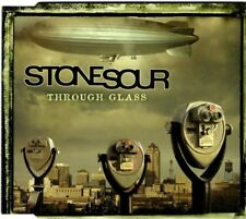 STONE SOUR  Through Glass    RARE  3 TRACK CD  NEW - NOT SEALED