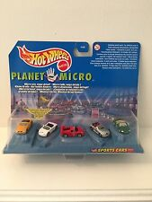 HOT WHEELS Planet Micro Set Series 1 Sports Cars  Edition Mattel New