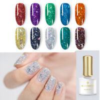 BORN PRETTY 6ml Star Moon Glitter Gellack Holographic Nail Art Soak Off UV LED