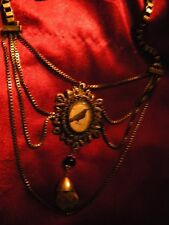 AMAZING ART RAVEN NECKLACE RAVEN CROW NECKLACE BY THEODOSIA'S TRINKETS