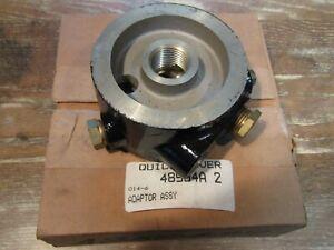 OEM Genuine Mercury Oil Filter Adaptor 48504A2  NLA PART SS# 48504T2 FREE S&H