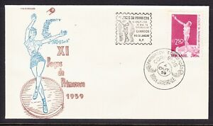 Brazil 1959 Spring Games First Day Cover