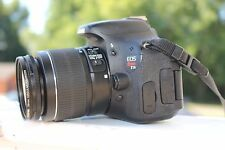 MINT Canon Rebel T3i 18.0 MP DSLR With EF-S IS II 18-55mm Lens Kit  (2 LENSES)