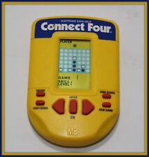 Connect Four Handheld Electronic Game Milton Bradley, 1995 Bright Screen Works