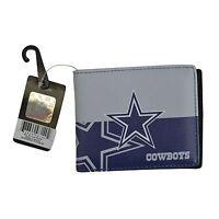 Brand New NFL Dallas Cowboys Men Women Synthetic Leather Bi-Fold Wallet