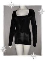 a282265d1e07 A - Haut T-shirt Fantaisie Noir Paillettes Guess by Marciano Taille 2