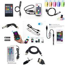 RGB Usb инфракрасный/радиочастотной/Bluetooth/Wifi пульт дистанционного управления детектив комиксы 5-24 В для 5050 светодиодная светящаяся полоса