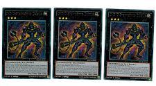 YUGIOH maximum CRISIS 3 x D D D steinkönig Darius macr-de045 rare playset