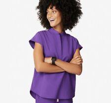 Nwt Figs Mandarin Rafaela Small Women Ultra Violet Scrub Top Limited Edition