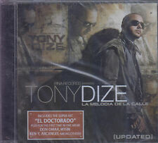 CD - Tony Dize NEW La Melodia De La Calle 15 Tracks - FAST SHIPPING !