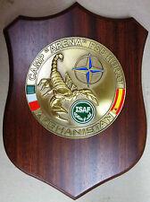 """Crest """"CAMP ARENA - FSB HERAT - TASK FORCE 45 - ISAF AFGHANISTAN"""" - (Originale)"""