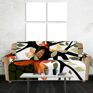 Modern Art Tree Sofa Couch Cover Pet Dog Kids Mat Furniture Protector Slipcovers