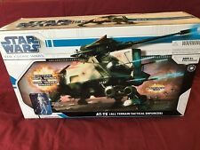 STAR WARS THE CLONE WARS  AT-TE ALL TERRAIN TACTICAL ENFORCER NEW IN SEALED BOX