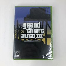 New listing Grand Theft Auto 3 The Xbox Collection (Microsoft Xbox, 2003) Factory Sealed