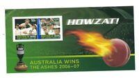 MAD486) Australia 2007 HOWZAT! Cricket - Ashes Minisheet MUH