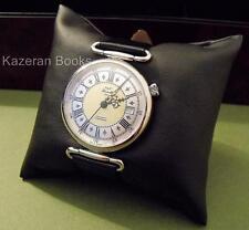Mans Watch J&T Windmills Sterling Silver Wristwatch Working & Presentation Box