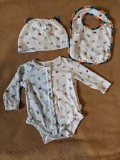Paul Smith Baby Vest Bib Hat Set 9 months (Fits Small 0-6 Months)