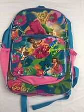 Girl's Disney Tinkerbell and The Pixie Hollow Games Backpack with Lunchbag