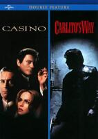 CASINO/CARLITO'S WAY NEW DVD