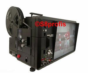 Super 8 Tonfilmprojektor Bolex Sound 815, 2 Jahre Gew.& Gar.