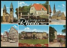 654708) Mehrbildkarte Rheda in Westfalen