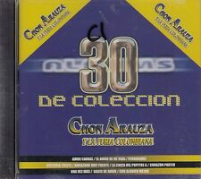 Chon Arauza y La Furia Colombiana 30 De Coleccion CD New Sealed