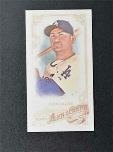 2015 Topps Allen and Ginter Mini A and G Back #3 Adrian Gonzalez - NM-MT