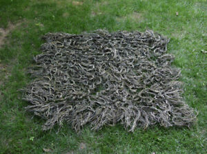 Camo Hunting Military Army Ghillie Suit 80*90cm Jungle camo Burlap Camo Netting
