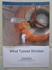 DEPLIANT ONERA AEROSPACE LABORATORY SOUFFLERIE TRANSONIC WIND TUNNEL MODANE