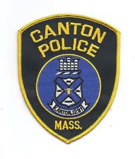 **CANTON MASSACHUSETTS POLICE PATCH**