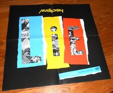 Mudhoney Live in Europe Poster Promo Original 21x21