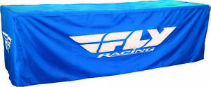 Fly Racing Pro Wheel Table Cover TABLE COVER 8' BLUE 8ft. x 30in. x 30in. Blue