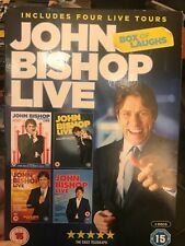 John Bishop Live Box Of Laughs 4 Disc DVD Boxset (2016)
