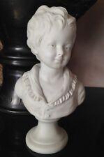 Beau buste en biscuit d'aprés Houdon Alexandre Brongiart, marque S Sévres ?