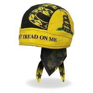 Don't Tread On Me Gadsden Flag Guns Motorcycle Biker Bandana Headwrap HWH1113