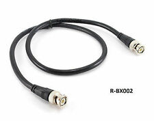 2ft CablesOnline RG8x Coax  BNC Male/Male Plug 50 ohm Antenna Cable, R-BX002