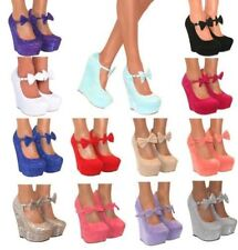 Wedge Suede Party Heels for Women