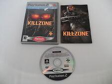 Killzone (PAL) Playstation 2 PS2 PS3 Sony Complete OVP CIB
