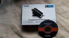D-link DLink RangeBooster N USB DWA140 Network HiSpeed USB 802.11b, 802.11g,...