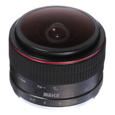 Meike 6.5mm F2.0 Fisheye MF Manual Focus Fixed Lens Fr CANON EF-M M5 M6 M10 M100