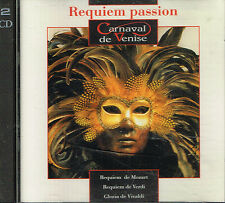CD album: requiem passion: Mozart - Verdi - Vivaldi. arcade 2 cds. C5